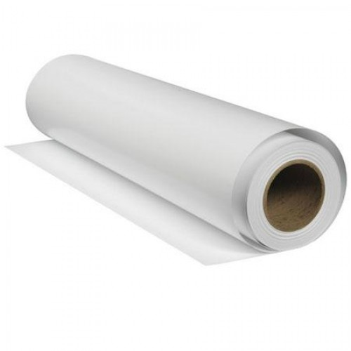 "Clear Self Adhesive 50 micron Film For UV Curable Printers 54"" 1372mm x 30m Roll"